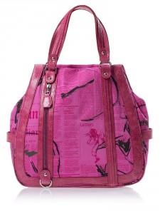 розовая сумка осень-зима 2011-2012 galliano