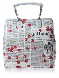 прикольная сумка 2011-2012 galliano