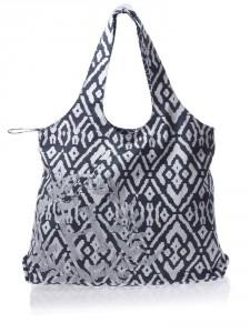 модная черно-белая сумка 2011-2012