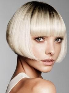 модная стрижка для коротких волос 2012 - боб