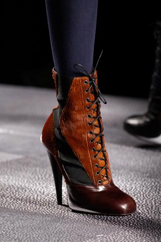 обувь 2012-2013 на шпильке Fendi