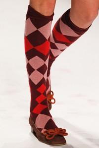 обувь носочки и гольфы осень-зима 2012-2013
