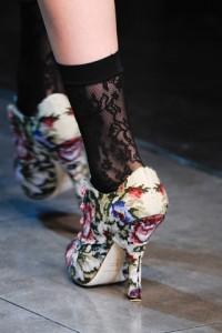 модная обувь осени от Dolce & Gabbana