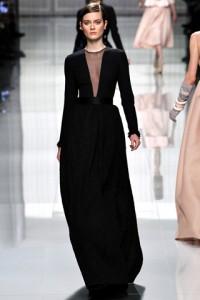 модное платье Christian Dior 2012-2013