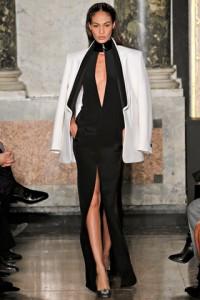 черное вечернее платье 2012-2013 Emilio Pucci