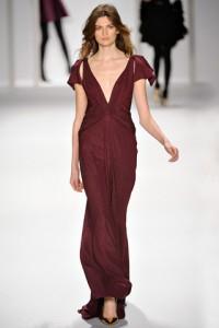 вечернее платье 2012-2013 J. Mendel