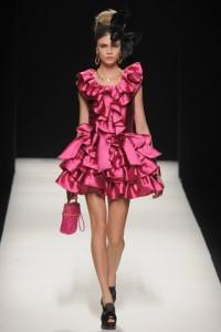 коктейльное платье Moschino 2012-2013