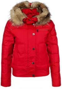 красная куртка осень-зима 2013-2014