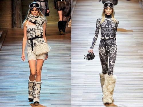Зимняя мода в женском гардеробе