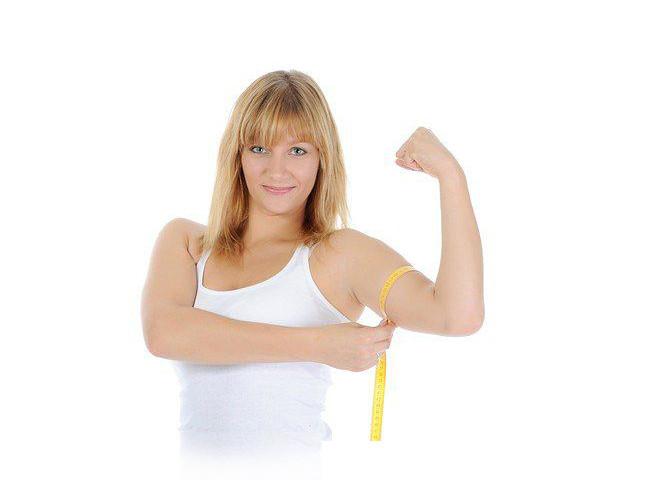 Как похудеть в руках полные руки