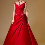 Какую бижутерию подобрать к красному платью?