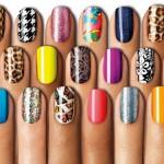 Оригинальные ногти благодаря трафаретам