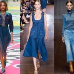 Модные джинсовые платья сезон 2015