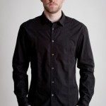 С чем носить чёрную мужскую рубашку?