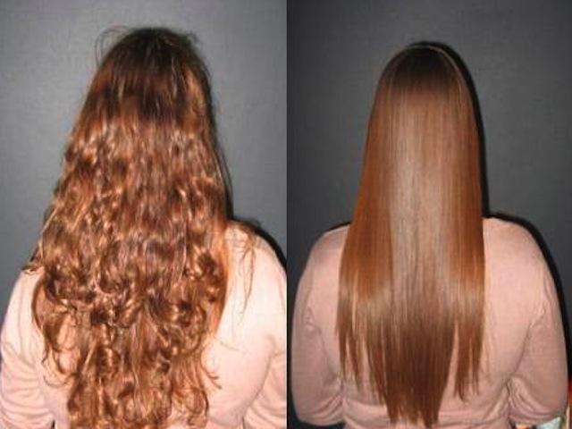 выпрямления-волос