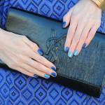 Какой лак лучше выбрать для синего платья?
