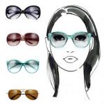 Как подобрать очки для зрения для овального лица?