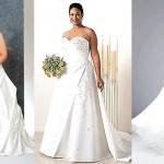Подбираем свадебное платье для полной невесты