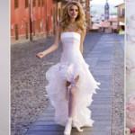 Как выбрать свадебное платье для невысокой невесты?