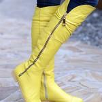 Женские ботфорты – эталон стиля