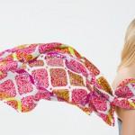 Женский шейный платок как деталь индивидуального стиля
