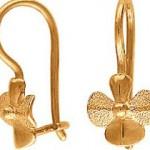 Золотые серьги. Как сделать правильный выбор?