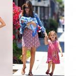 Подбираем платье для прогулок с ребенком