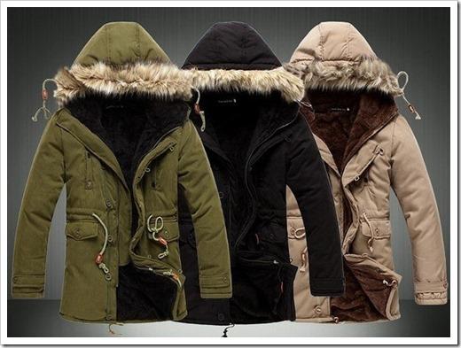 Виды зимних мужских курток