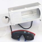 Применение кварцевых ламп и облучателей