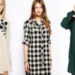 Как правильно носить платье – рубашку?