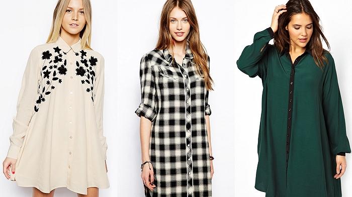 Как правильно носить платье – рубашку