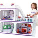 Кукольный домик – прекрасный подарок для девочки