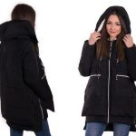Женская парка с мехом – стильная куртка