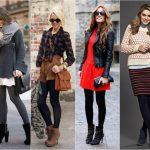 Женские ботинки на каблуке: с чем носить?