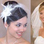 Как подобрать фату для свадебного платья?