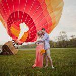 Полёт на воздушном шаре — отличный вариант сделать предложение девушке