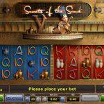 Обзор игрового автомата онлайн Secrets of the Sand