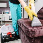 Как осуществляется химчистка мягкой мебели?
